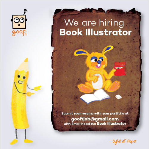 goofi is hiring Book Illustrator