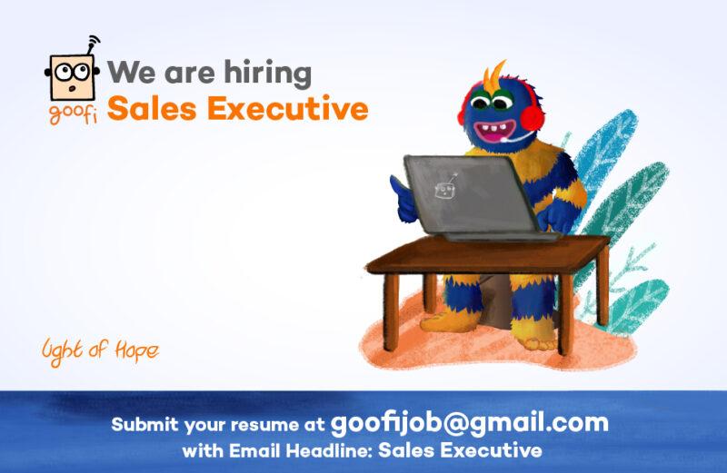 Goofi is hiring Sales executive